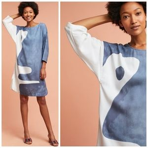 NWT, Anthropologie, Abstract Face Tunic Dress